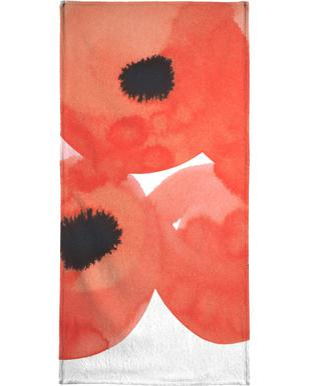 Flowers 002 serviette de bain
