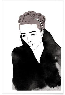 Lady In Black affiche