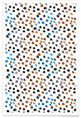 Small Colourful Dots affiche