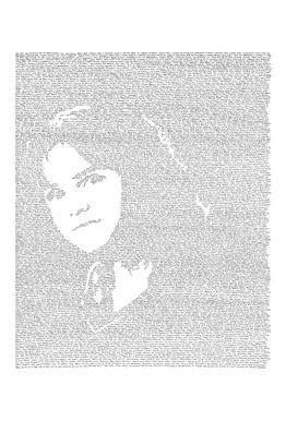 Hermione tableau en verre