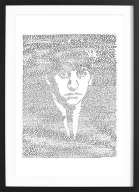 Ringo affiche sous cadre en bois
