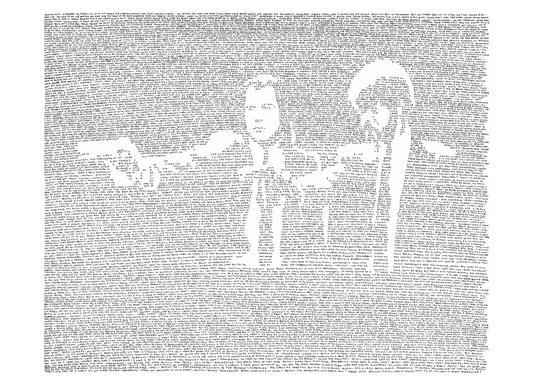 Pulp Fiction toile