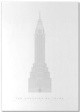 The Chrysler Building Notepad