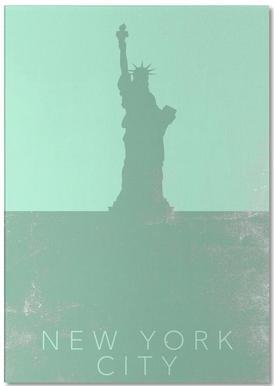 New York City -Notizblock