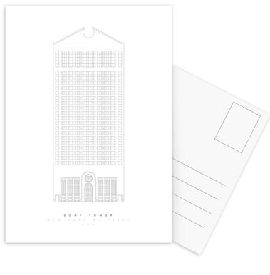 The Sony Building Postcard Set
