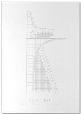 Stark Tower Notebook