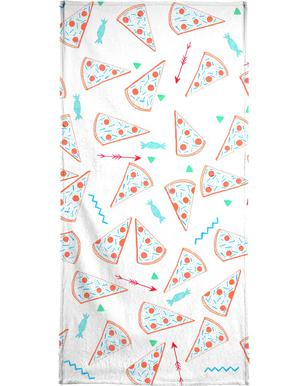 Pizza -Handtuch