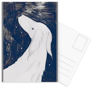 Hund -Postkartenset