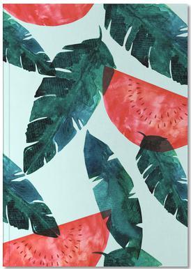Melon Pattern Notebook