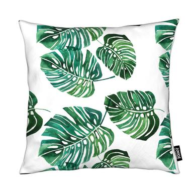 Monstera Pattern coussin