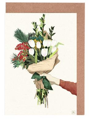 Flowers wenskaartenset
