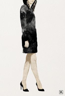 BB Lady 2 tableau en verre