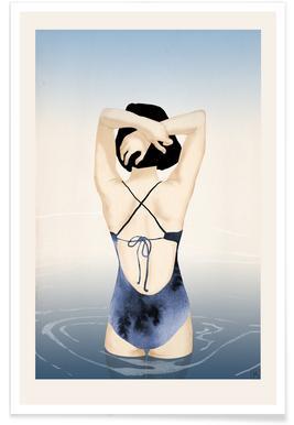 Sea Girl Poster