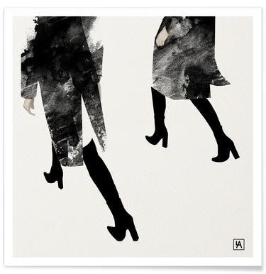 BB Walk - Premium Poster