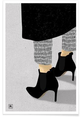 Legs & Shoes 1 - Premium Poster