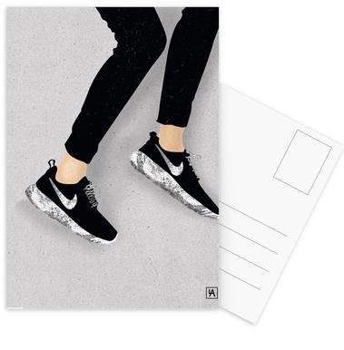 Legs & Shoes 3 Postcard Set