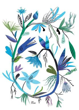 Botanica Clematis White toile