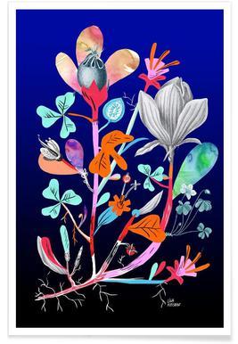 Botanica Blue affiche