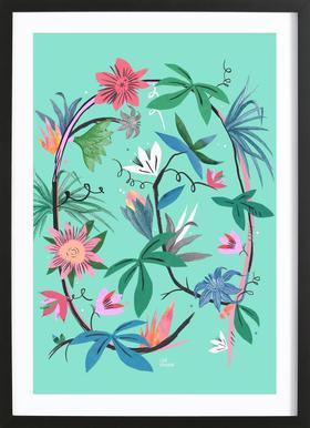 Botanica Passionflower 1 Framed Print