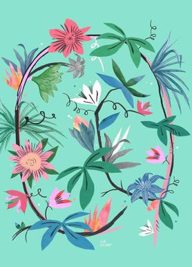 Botanica Passionflower 1 toile
