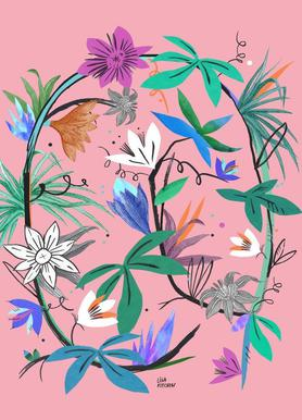 Botanica Passionflower 3 toile