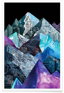 Lost Cities Mountains affiche