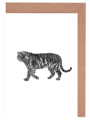 Tiger Greeting Card Set