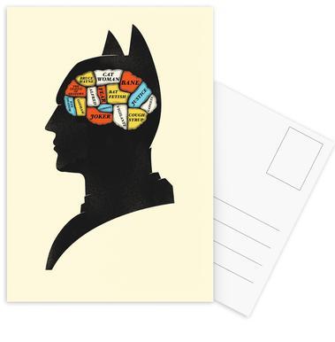 Batman -Postkartenset