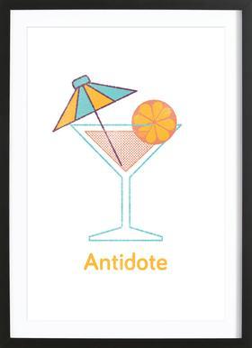 Antidote Framed Print