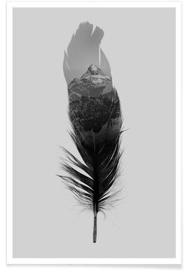 Feather -Poster