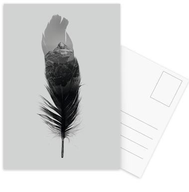 Feather Postcard Set
