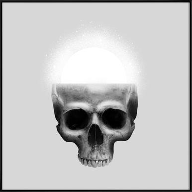 Skull Rise Framed Poster