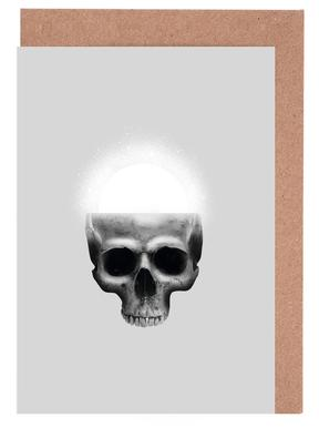 Skull Rise Greeting Card Set