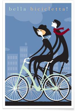 Bella Bicicletta Poster