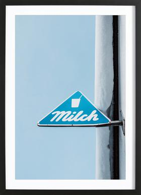 Milch Framed Print