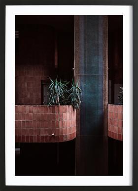 Walden Palms Framed Print