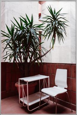 Walden Chair poster in aluminium lijst