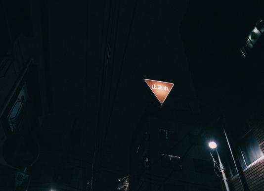 Tokio Nights canvas doek
