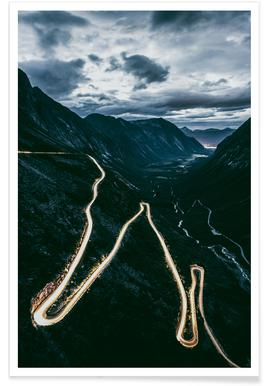 Trollstigen - Premium Poster