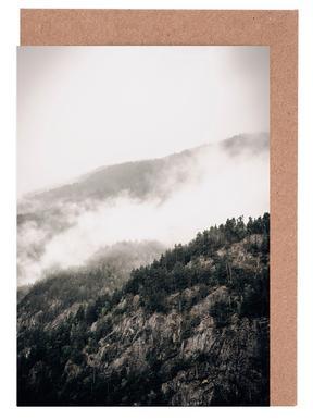 Misty Mountains -Grußkarten-Set