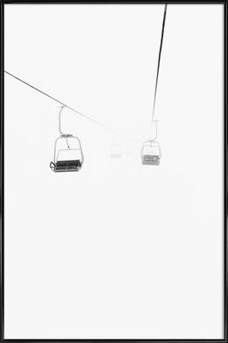 Foggy Framed Poster