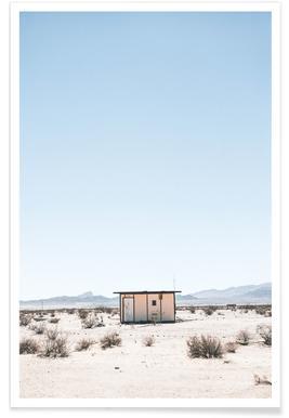 Desert House - Premium Poster