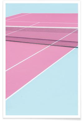 Pink Court - Net - Premium poster