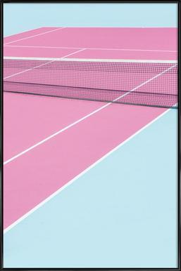 Pink Court - Net ingelijste poster