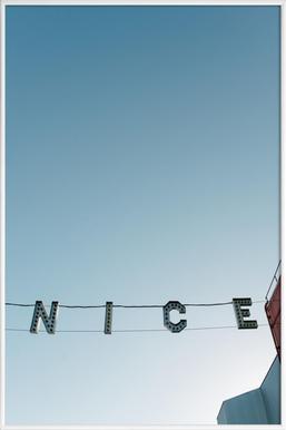 Ve-Nice - Poster in kunststof lijst