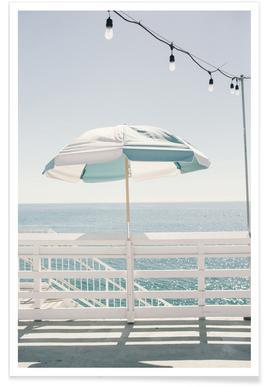Blue Malibu Single Plakat