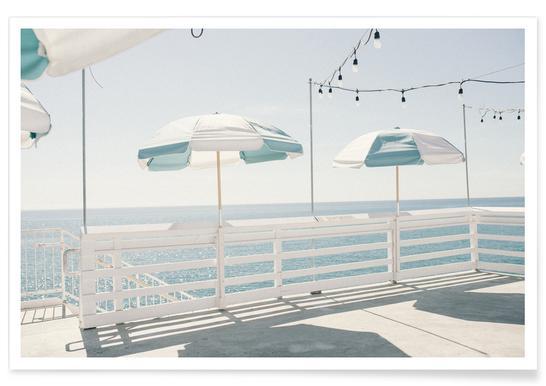 Blue Malibu - Premium Poster