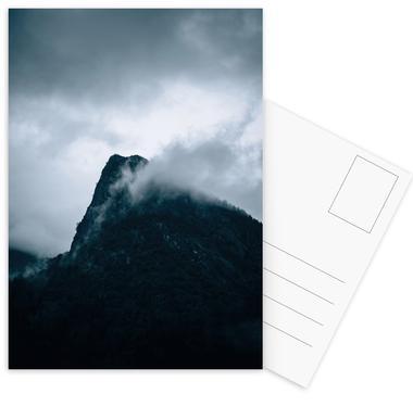 Grey -Postkartenset