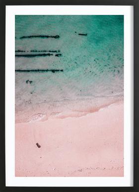 Beach Patterns2 Framed Print