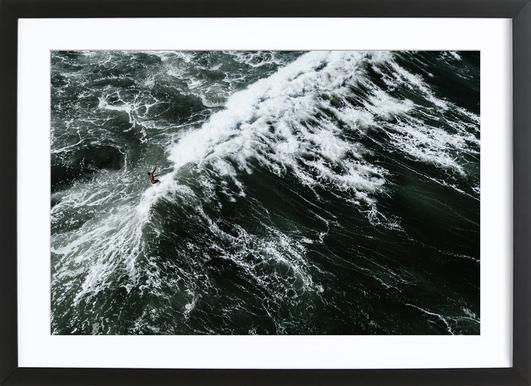 Beach Sea Pattern 2 Framed Print